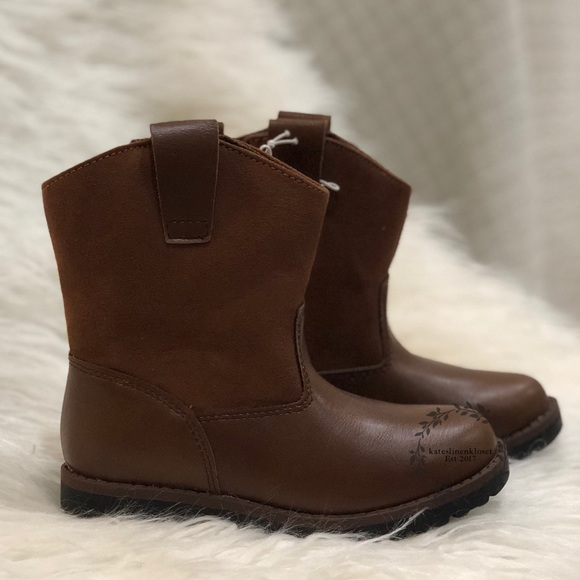Toddler Boys´ Hunter Fashion Boots Cat and Jack Black Size 5*